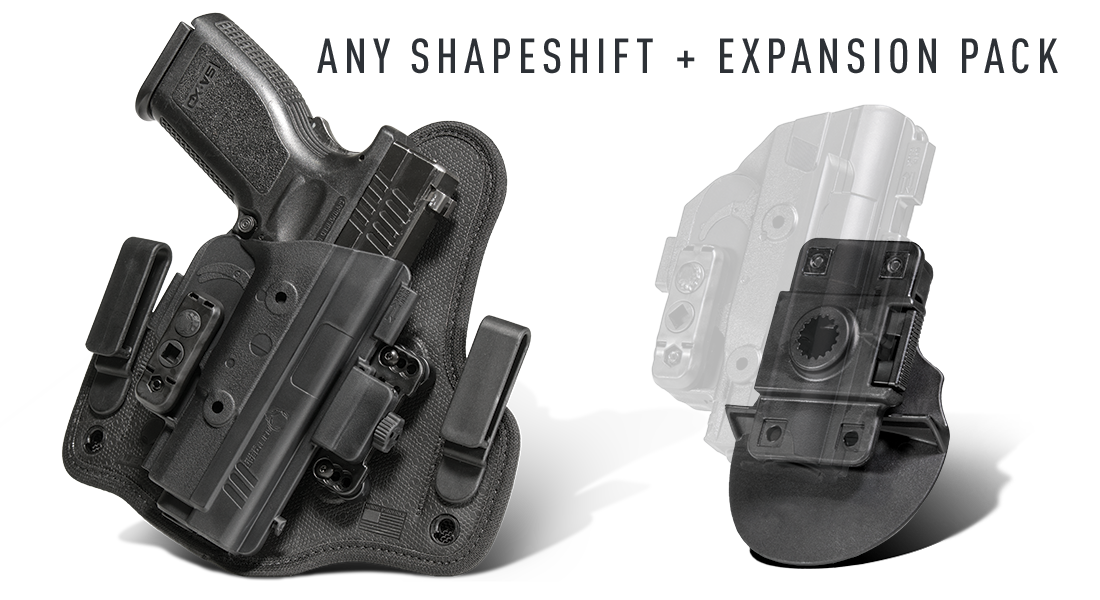 shapeshift expansion pack & holster deal