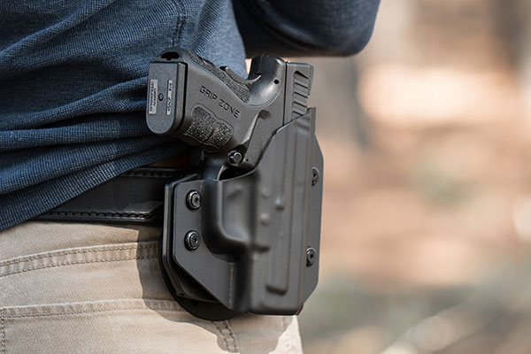 Sig P320 Full Size Outside the Waistband Paddle Holster