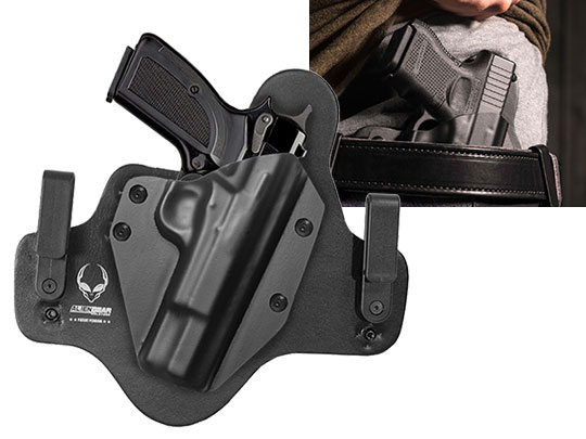 Leather Hybrid Browning Hi Power Holster