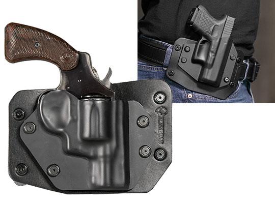 Colt Detective Special Revolver Cloak Slide OWB Holster (Outside the Waistband)