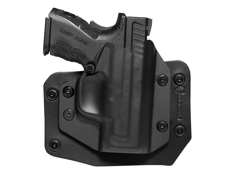 springfield holster xd mod owb 9mm subcompact outside inch 40cal waistband cloak slide