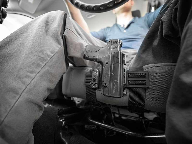 ShapeShift Driver Defense Holster - Car Seat Holster   Alien Gear