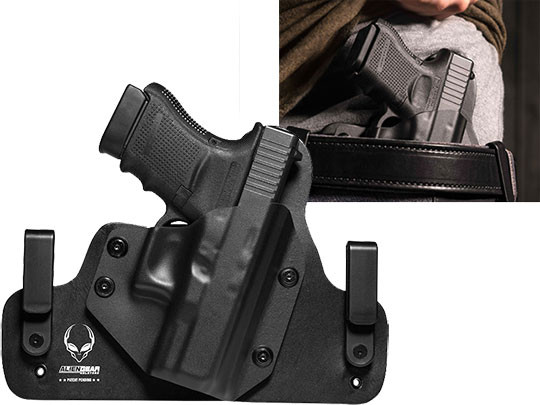 Glock 30s Leather Hybrid Holster | Alien Gear Holsters