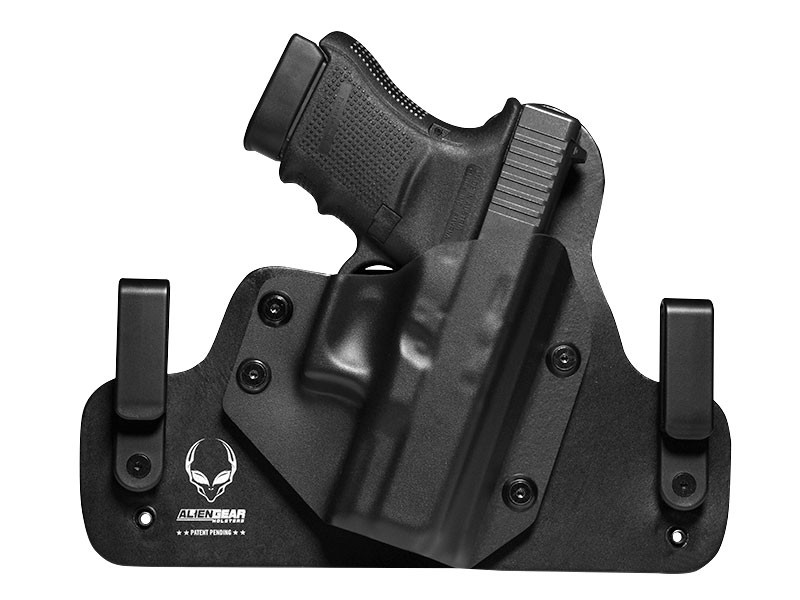 Glock 30 Leather Hybrid Holster | Alien Gear Holsters