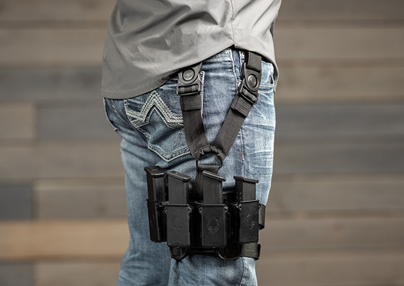 Duty belt knife holder