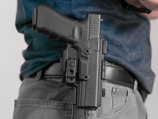 Glock - 17 ShapeShift OWB Paddle Holster