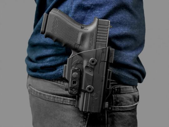 Glock - 19 ShapeShift OWB Paddle Holster