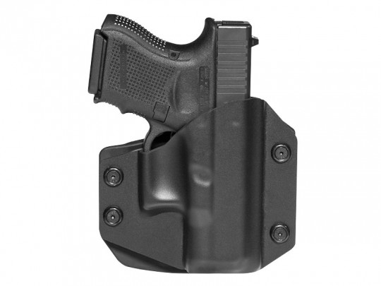 Glock - 26 Cloak Mod OWB Holster (Outside the Waistband)
