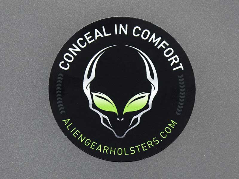 alien gear holster sticker