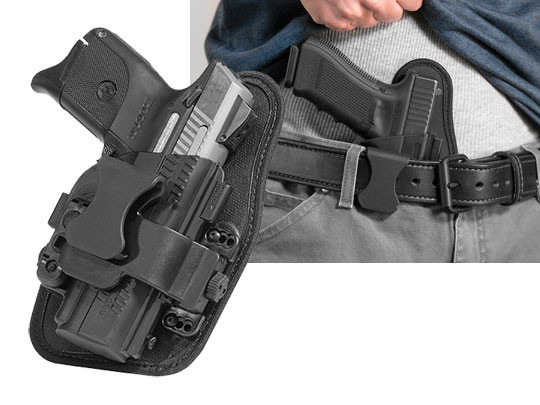 best ruger sr40c appendix carry holster