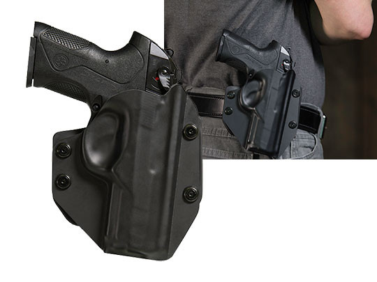 wearing the beretta px4 storm full size paddle holster