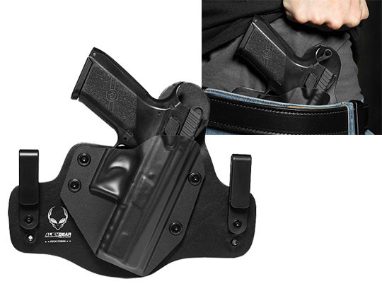 leather hybrid holster for the cz po7