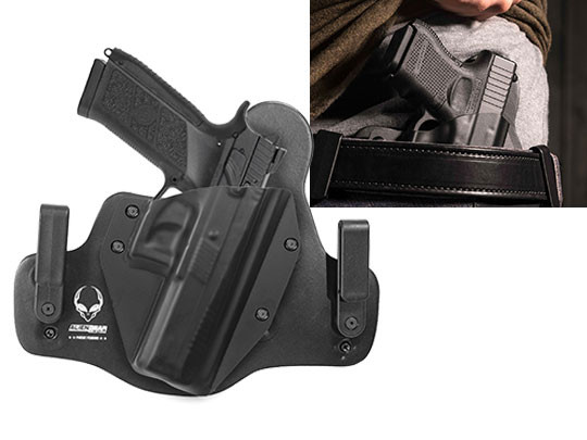 Leather Hybrid CZ PO9 Holster