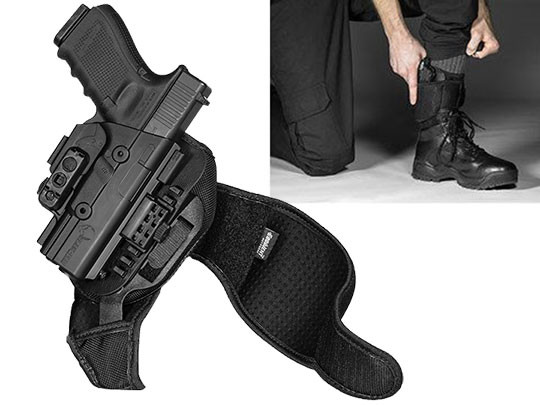 Glock 19 ShapeShift Ankle Holster