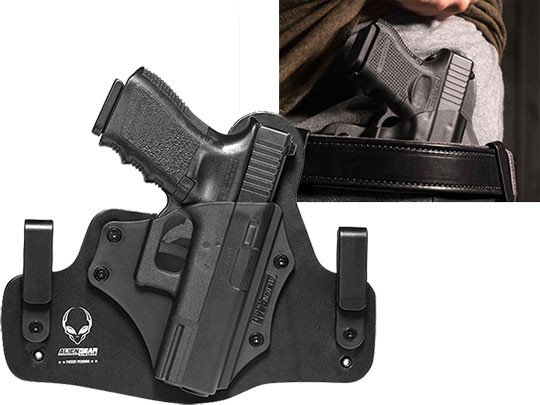 Hybrid Leather Holster For Glock 19