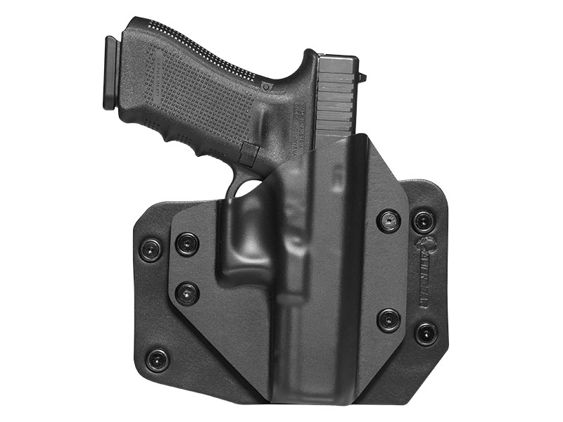 Glock 22 outside the waistband slide holster