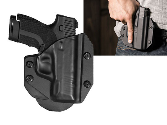 Paddle Holster for Honor Defense Honor Guard Subcompact