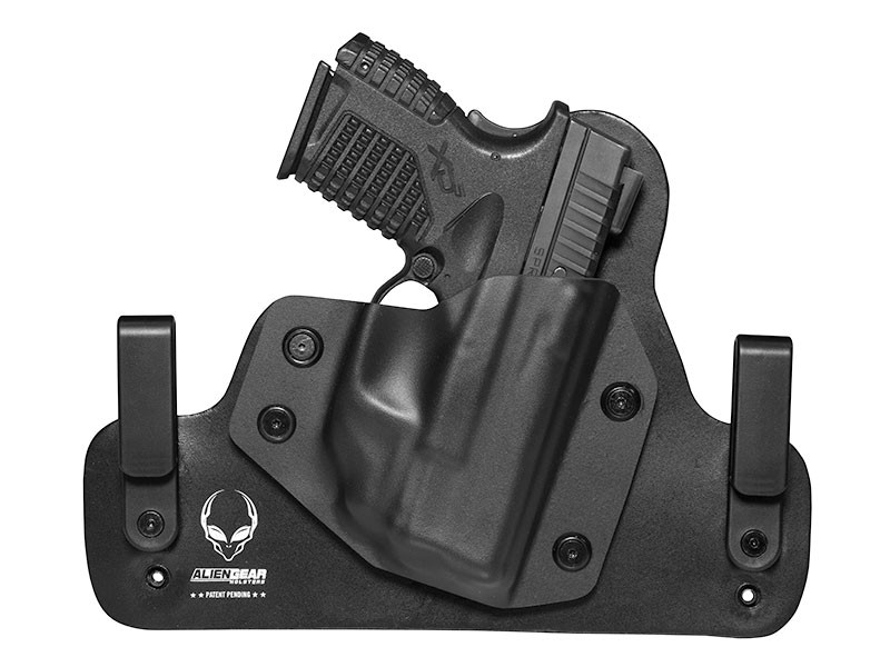 Leather Hybrid Springfield XDs 3.3 with Crimson Trace Laser LG-469 Holster