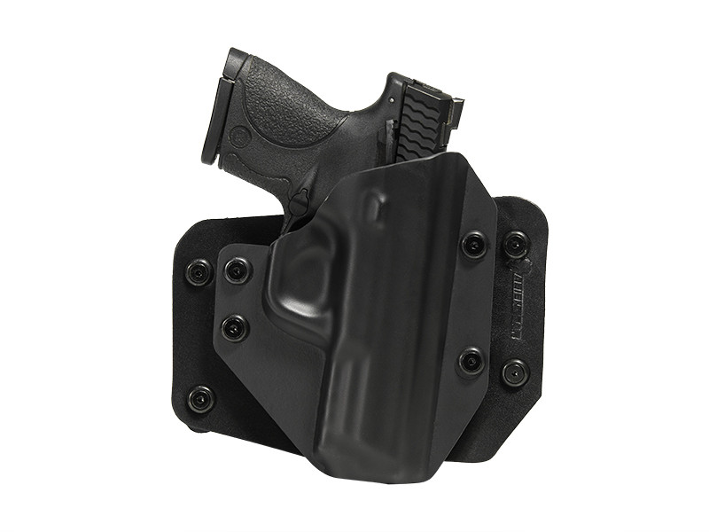 S&W M&P40c Compact 3.5 inch barrel Cloak Slide OWB Holster (Outside the Waistband)