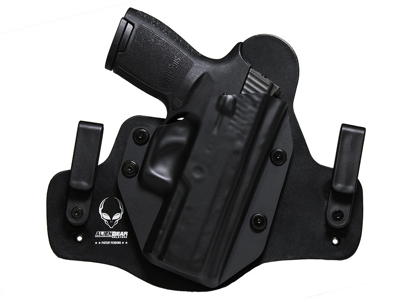 Sig P250 Compact with Picatinny Rail Cloak Tuck IWB Holster (Inside the Waistband)