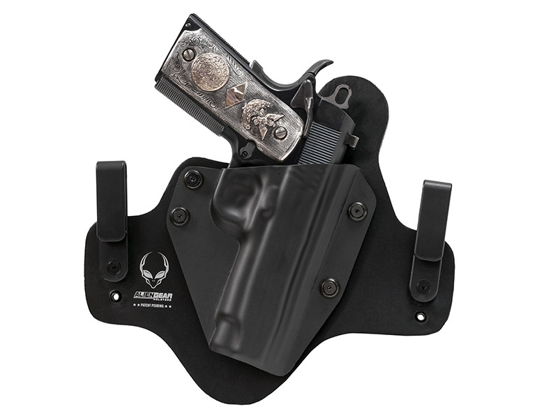 Leather Hybrid Para Ordnance 1911 Elite Commander 4.25 inch Holster