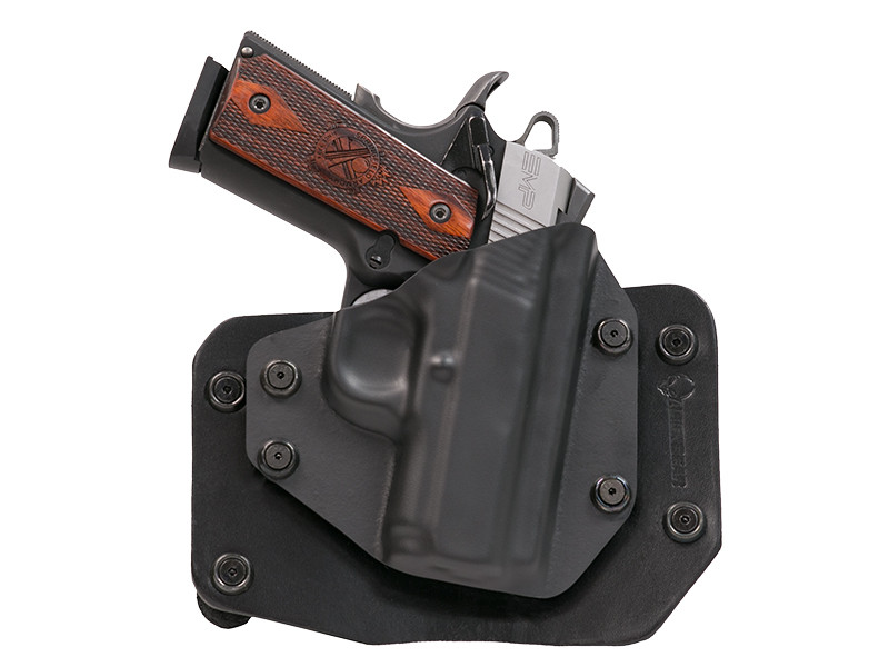 Leather Outside the Waistband Para Ordnance 1911 LDA Carry 9 3 inch Holster