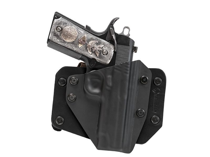 Remington 1911 R1 Carry Commander 4.25 Inch Leather OWB Holster