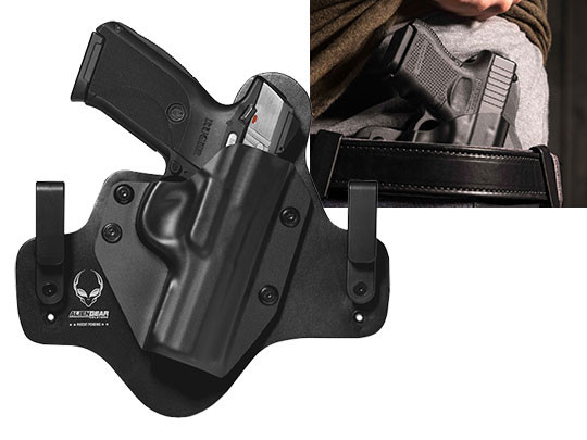 Leather Hybrid Ruger SR40 Holster