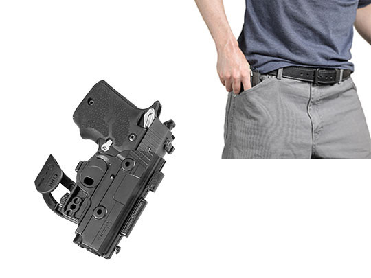pocket holster for s w m p shield 45 caliber