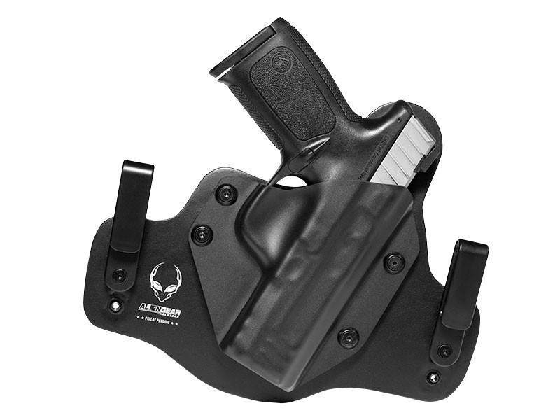 Black Leather Hybrid S&W SD9 VE Holster