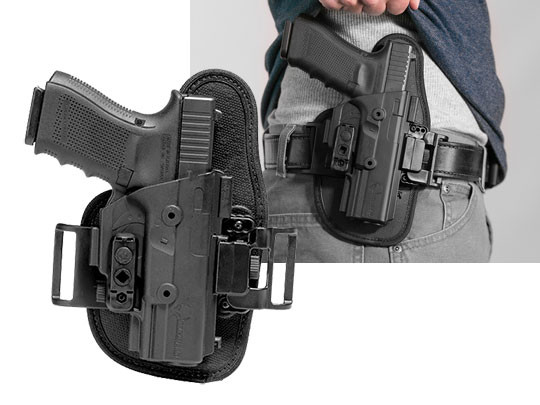 belt glock 19 slide holster