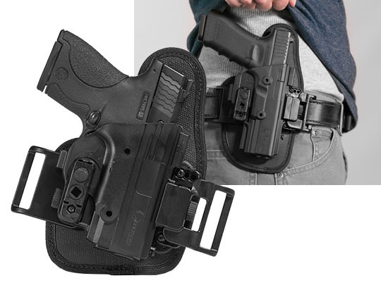 owb belt slide holster for the shield 40 caliber