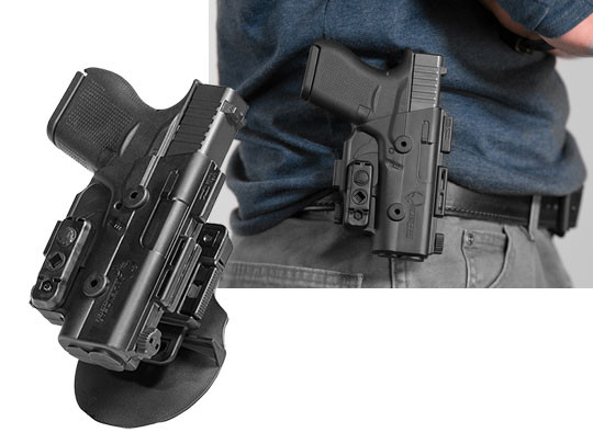glock 26 paddle holster for owb carry
