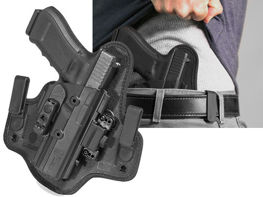 shapeshift inside the waistband glock 17 holster