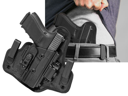 inside the waistband holster for the glock 19 shapeshift