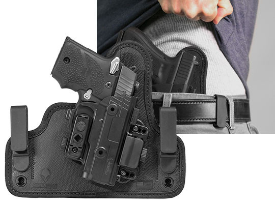 Sig Sauer P938 inside the waistband holster