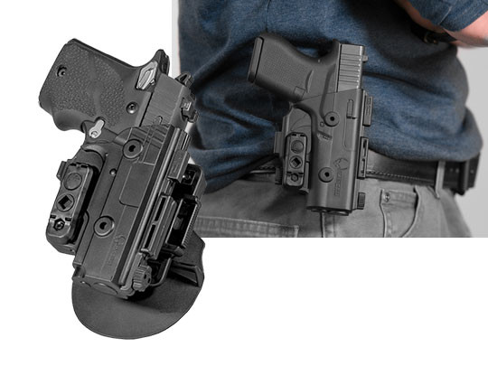 sig sauer p938 paddle holster for owb carry