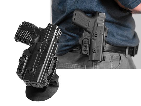 springfield xds 3.3 shapeshift owb paddle holster