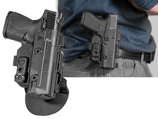 best paddle holster for s&w m&p9c