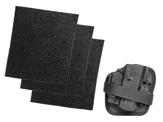 The ShapeShift Adhesive Holster with Velcro and pads