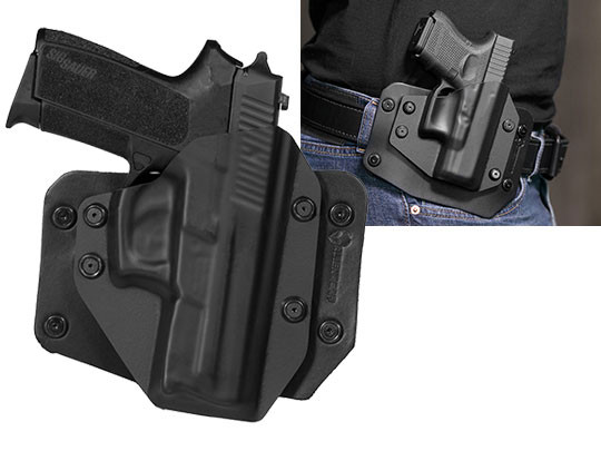 wearing a Sig SP2022 outside the waistband