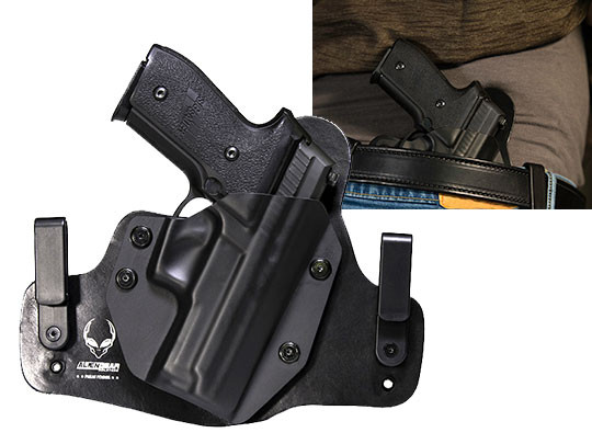 Hybrid Leather Sig P229r Railed Holster