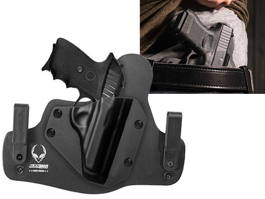 sig p232 leather hybrid gun holster alien gear holsters