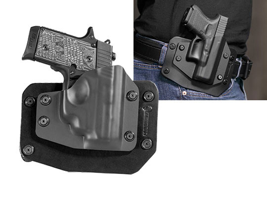 Sig P238 Crimson Trace Laser LG-492 Outside the Waistband Holster