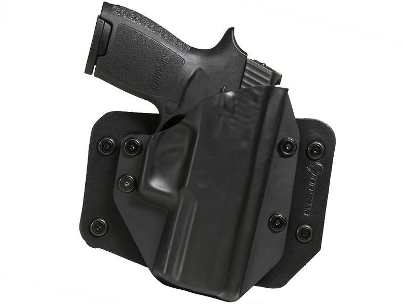 Sig P250 Compact with Picatinny Rail Cloak Slide OWB Holster (Outside the Waistband)