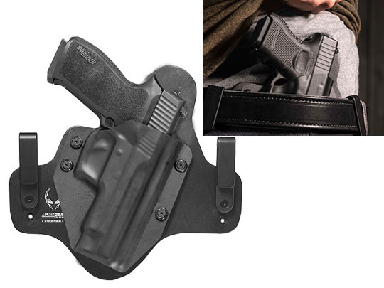 Leather Hybrid Sig P220 Carry/Compact Holster