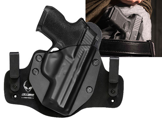 Leather Hybrid Sig P224 Holster