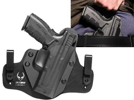 Wearing Hybrid Leather Springfield XD Mod.2 4 inch Service Model Holster
