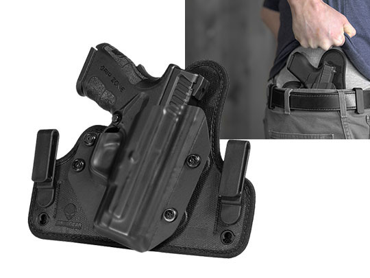 concealment holster for springfield xd mod2 subcompact 45acp 33 inch iwb carry