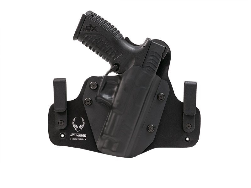 Leather Hybrid Springfield XDM 4.5 inch barrel Holster